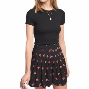 Anthropologie Maeve Patchwork Pleated Shorts NWT